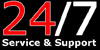 24/7 Service & Support